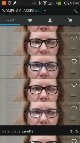 Filter your choices glasses.com