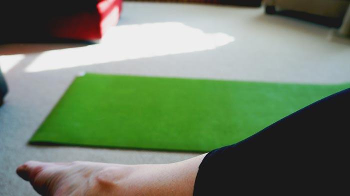 gaiam-green-yoga-mat