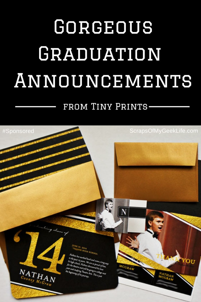 Printing graduation announcements