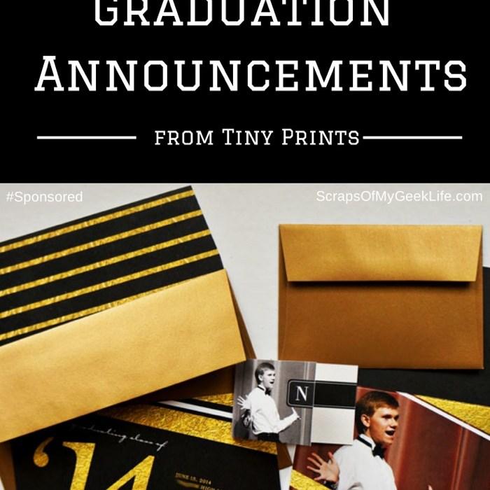 Printing graduation announcements