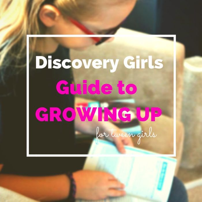 Discovery Girls Guide to Growing UP Givewawy
