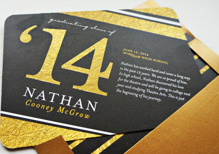printing graduation announcement