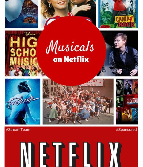musicals on netflix