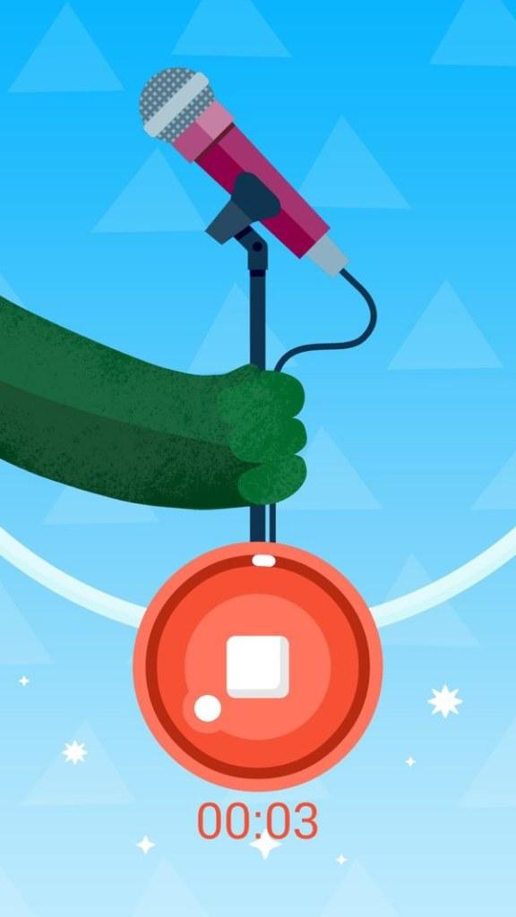 Samsung Galaxy S5 Kids Mode Sound Recording app