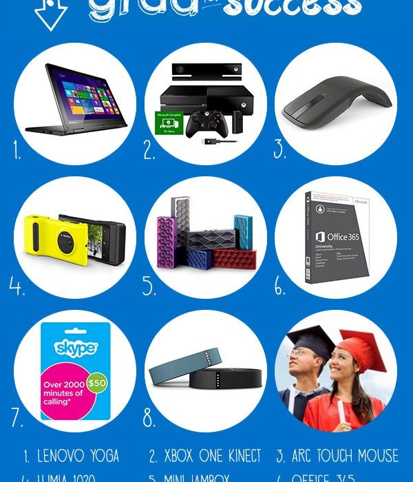 tech gift guide for grads
