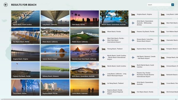 BING Travel App