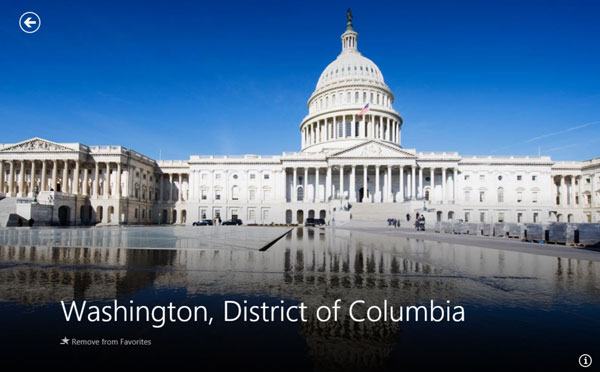 Bing Travel Washington DC