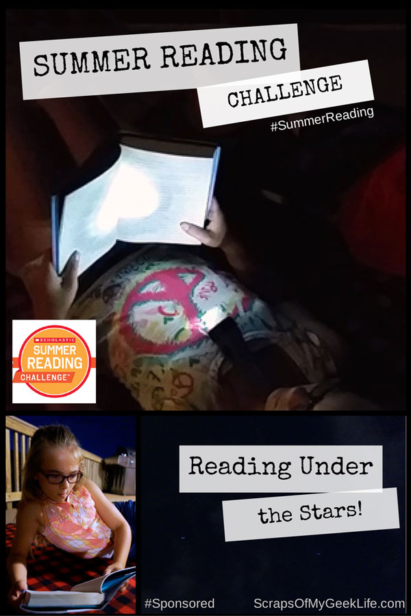 Summer Reading Under the Stars with Scholastic & EVEREADY