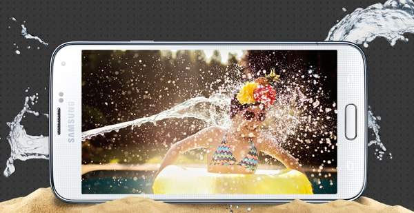 Samsung Galaxy S5 is water and dust resistant