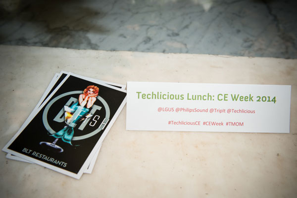 Techlicious sponsored CE Week Lunch