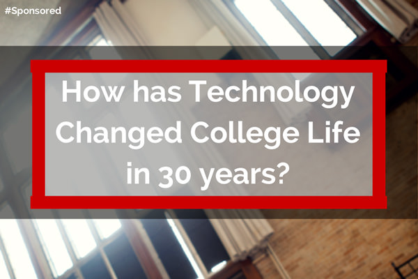 How has technology changed college life in the last 30 years? #AMD #BacktoSchool #IfItCanGame