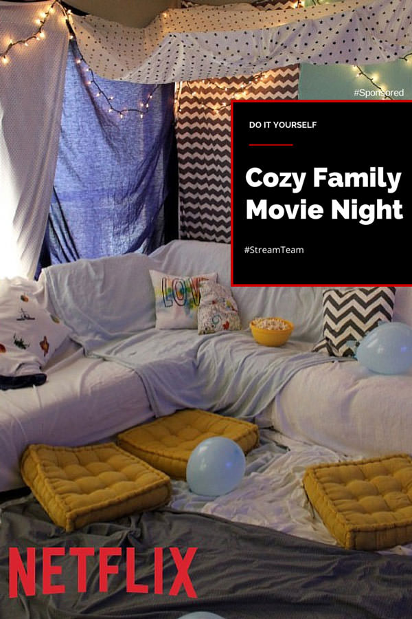 How to create a cozy family movie night with Netflix movies