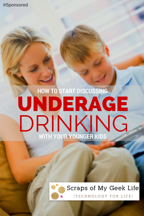 How to Talk to your Younger Kids about Underage Drinking; Tools to help parents start the conversation.
