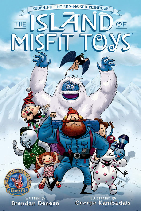 Rudolph and the Island of Misfit Toys #Rudolph50