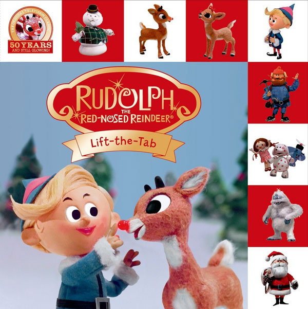 Rudolph Lift the Tab Book #Rudolph50