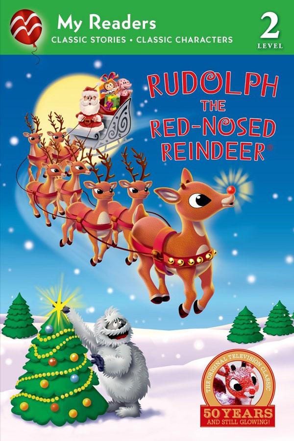 Rudolph My Reader Level 2 book #Rudolph50