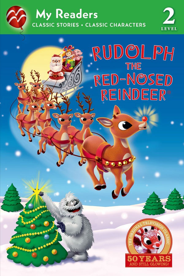 Rudolph My Reader Level 2 book #Rudolph50