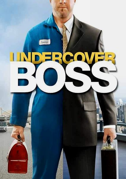 Undercover Boss shows all sides of running a business. From CEO down to the janitor. Find out what it takes to run a business. #StreamTeam #VisionBoard