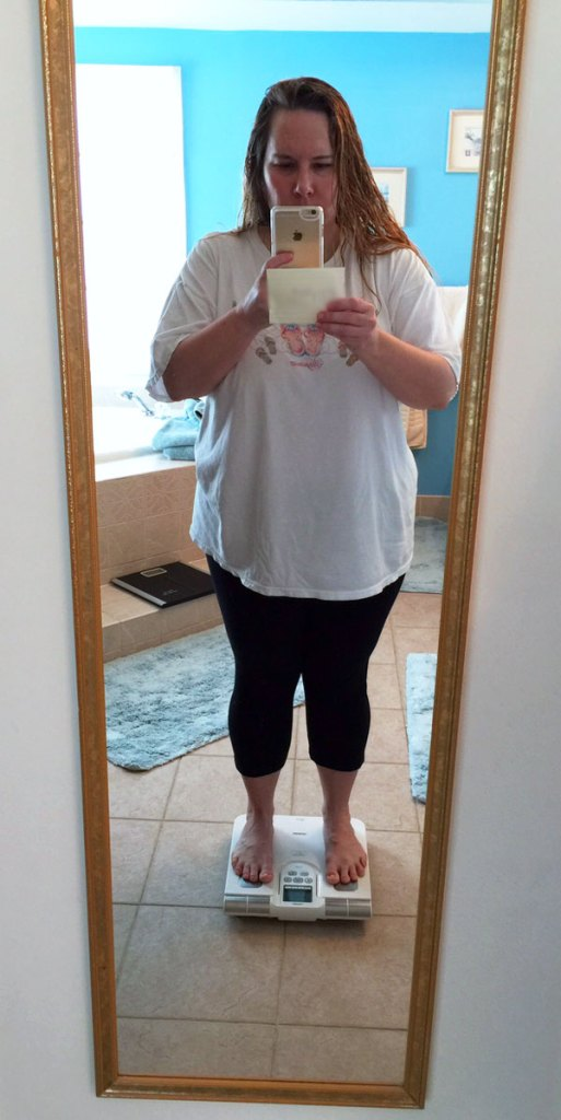 Getting rid of 40 extra pounds.