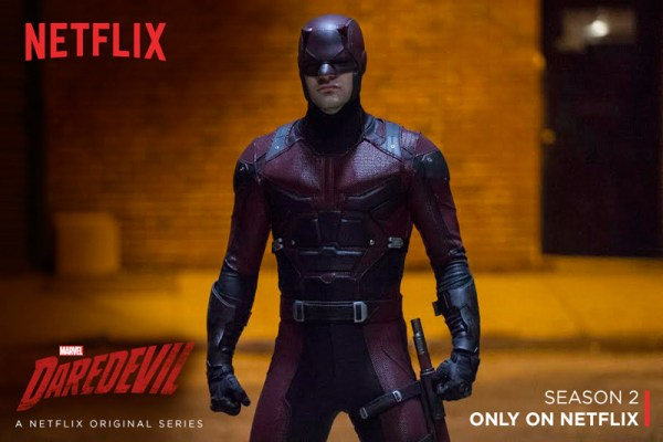 Marvel's Daredevil debuts on Netflix.Season 2 to come in 2016. #StreamTeam #Daredevil #Spon