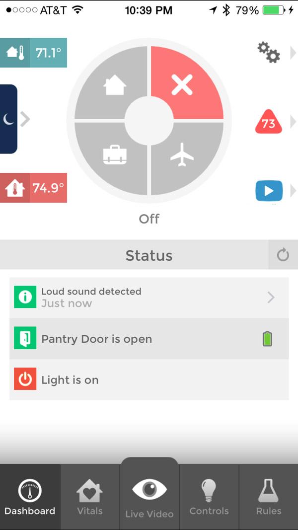 Piper nv iOS Dashboard