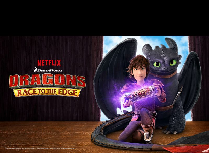 Dragons Race to the Edge series on Netflix