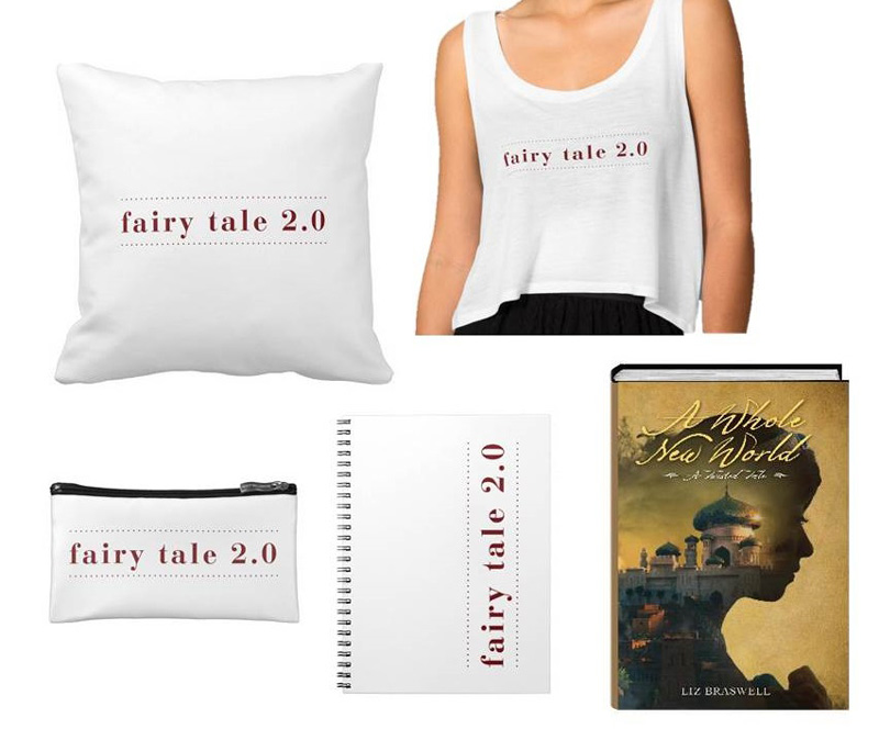 A Whole New World Fairy Tale 2.0 prize pack giveaway. Prize provided by Disney-Hyperion. #FairyTale2pt0