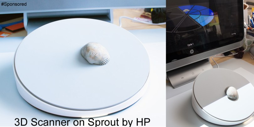 3D scanning with the Sprout by HP #GoMakeThings #SproutByHP #Sponsored