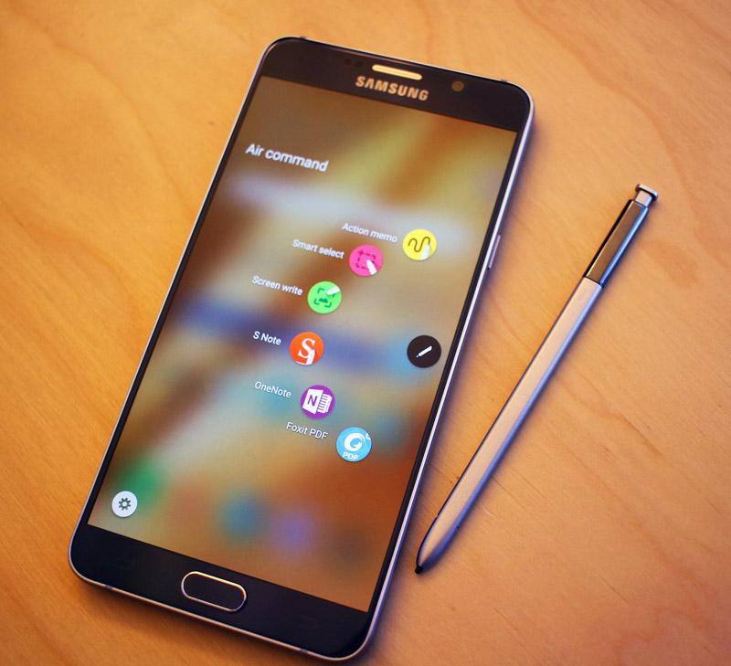 Air Command on the Samsung Galaxy Note5. #SprintMom #IC
