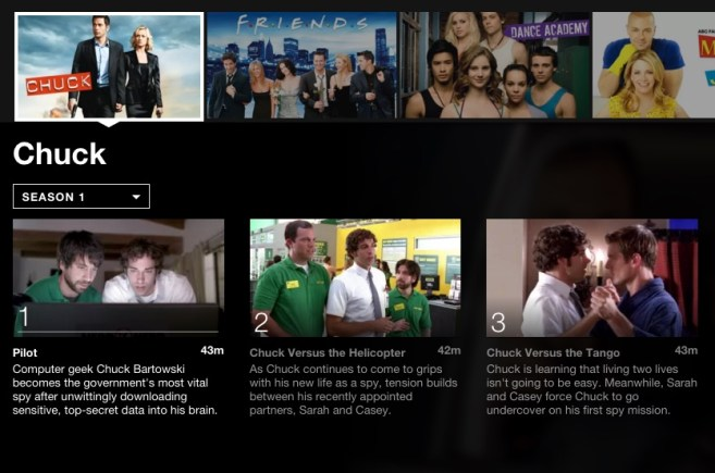 Chuck; 5 binge-worthy shows on Netflix for tween boys. #StreamTeam