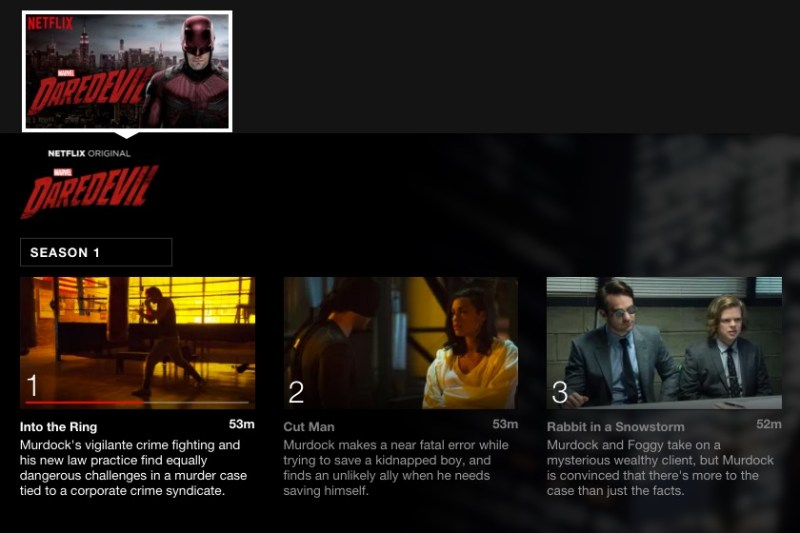 Daredevil; 5 Binge worthy shows on Netflix for College Students #StreamTeam