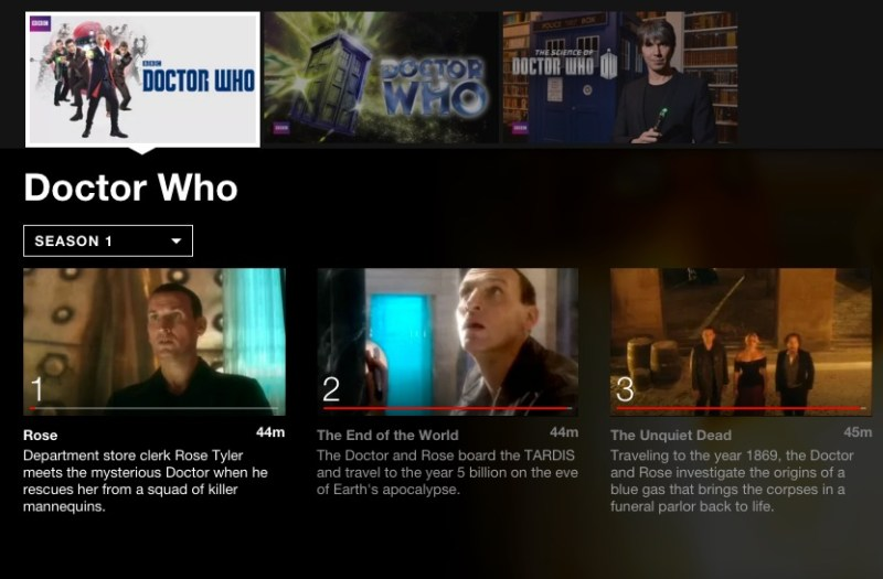 Dr. Who; 5 binge-worthy shows on Netflix for tween boys. #StreamTeam