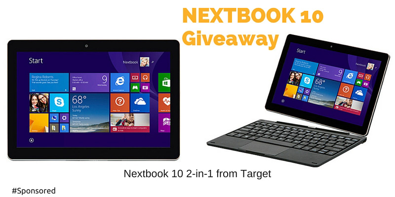 Nextbook 10 2-in-1 from Target. Perfect device to stay connected with your family over the holidays.