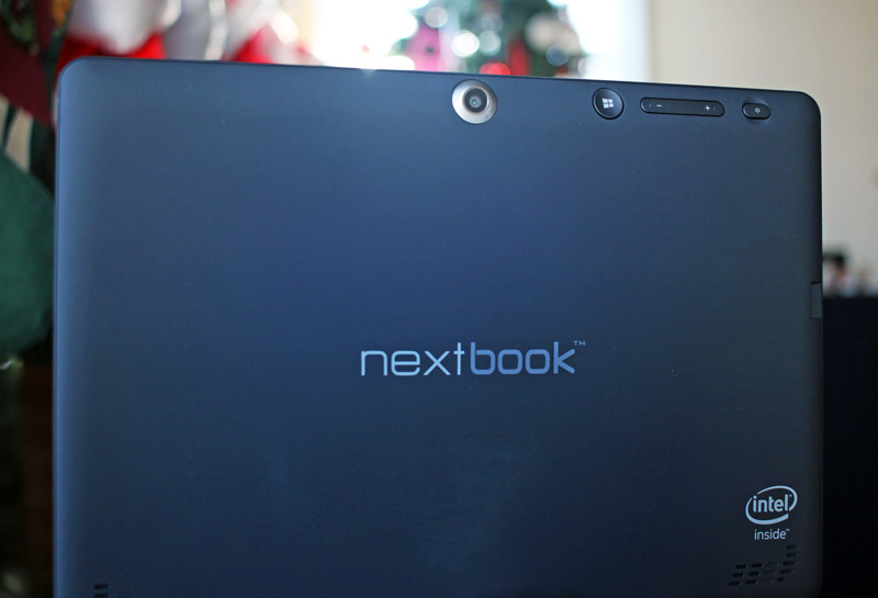 Camera on the back of the Netbook 10 available at Target