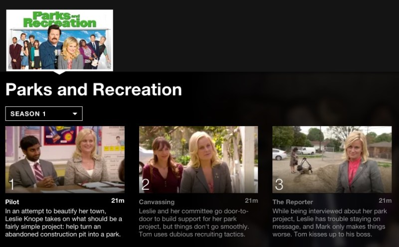 Parks and Recreation; 5 Binge worthy shows on Netflix for College Students #StreamTeam