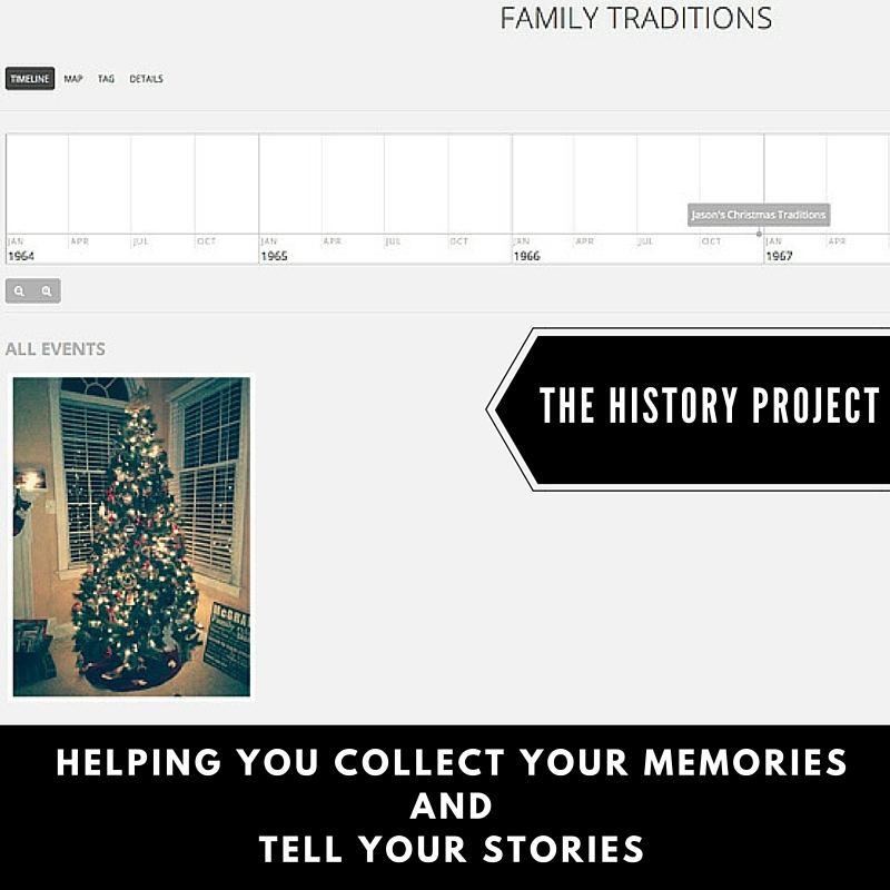 The History Project is a digital storytelling platform. It is free to start a project and begin to collect media to tell any story. Coupon code for concierge services in post.