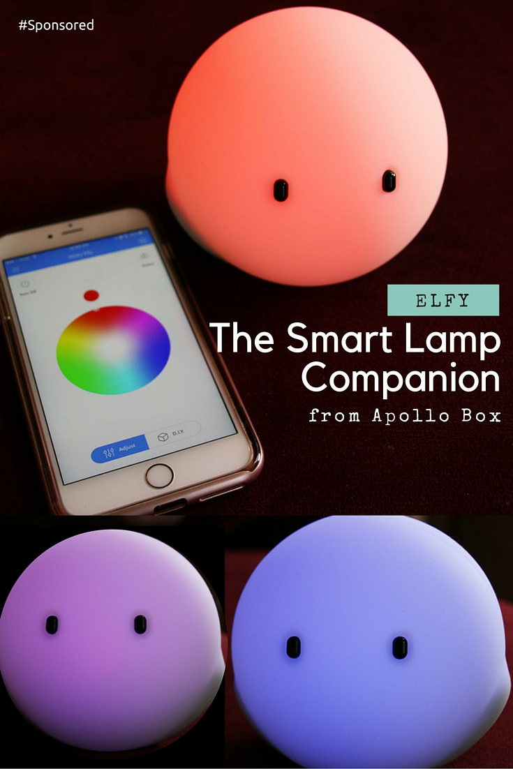 Elfy, the smart lamp by Apollo Box. Elfy is an elf-like companion. Great for kids night light.