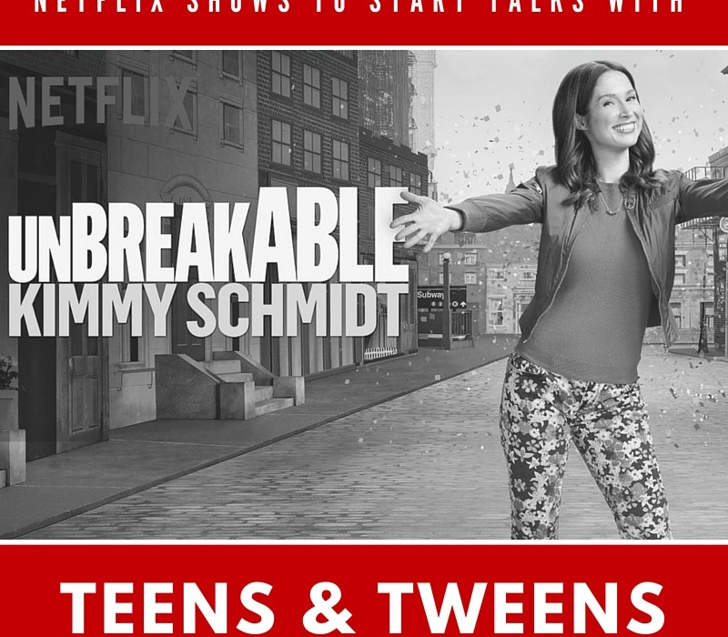 Netflix shows to open converstations with your teens and tweens #StreamTeam