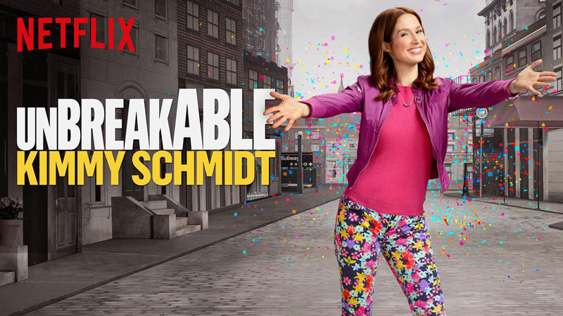 Unbreakable Kimmy Schmidt on Netflix Episode #104, Kimmy Goes to the Doctor! to open discussion with teens about Self Improvement, #StreamTeam