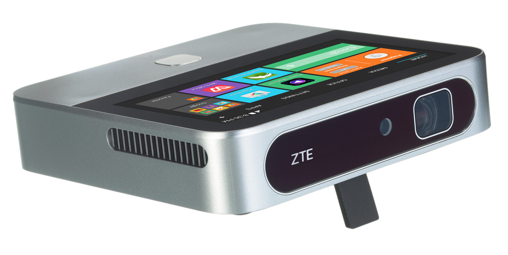 ZTE SPRO2 Wireless Smart DLP mobile projector at Best Buy. Android Projector.