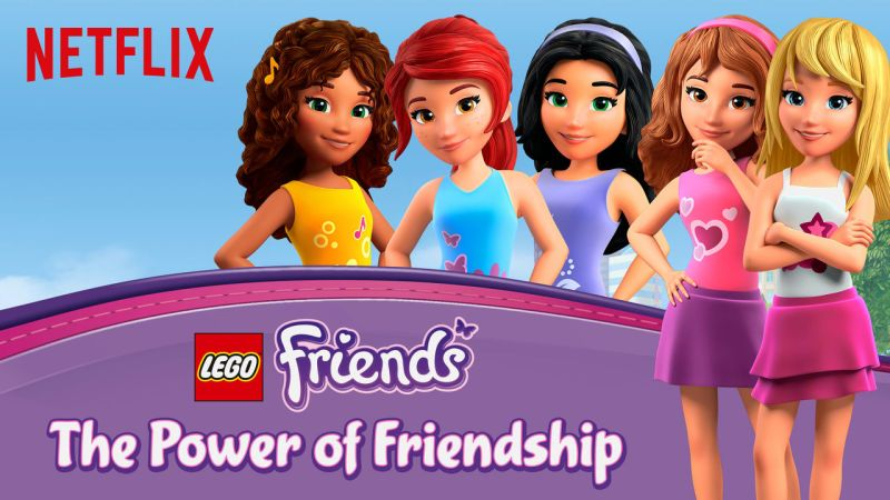Season 2 of LEGO Friends: The Power of Friendships on Netflix. #StreamTeam