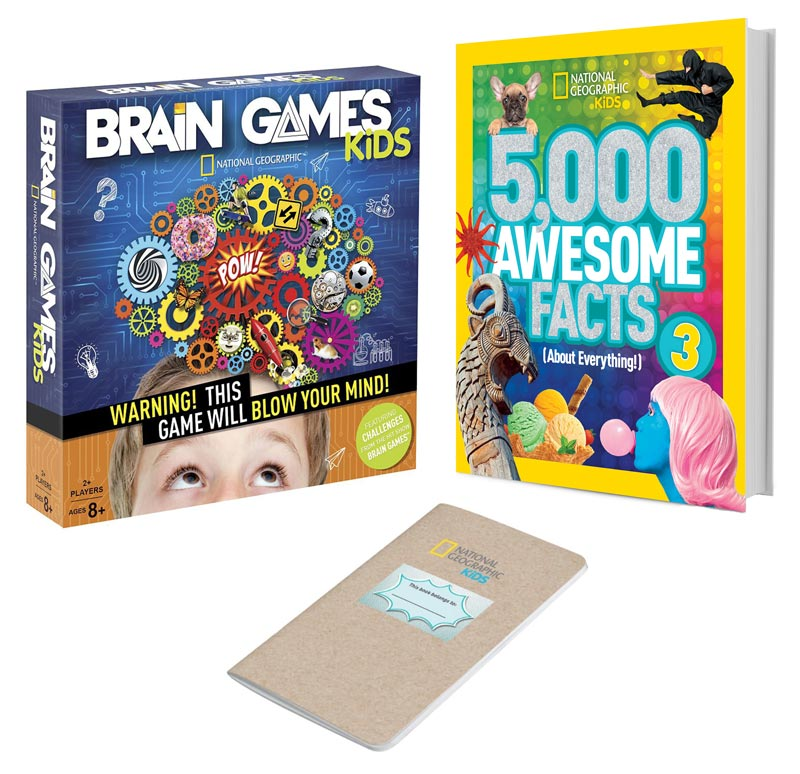 National Geographic Kids Brain Games Prize Pack #giveaway