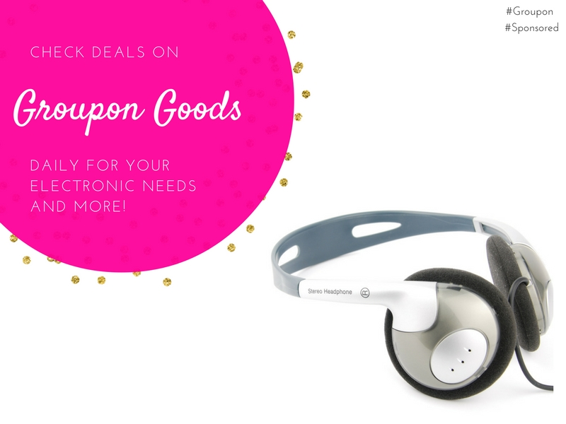 Groupon Goods offers deals on electronics and much more. Check daily for new deals. #Groupon
