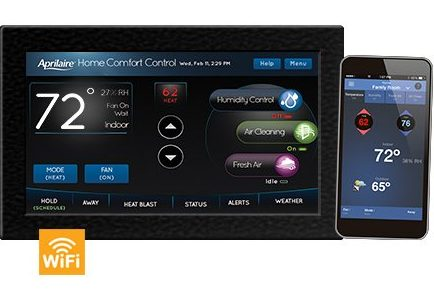 Model 8920w Aprilaire WiFi tablet thermostat