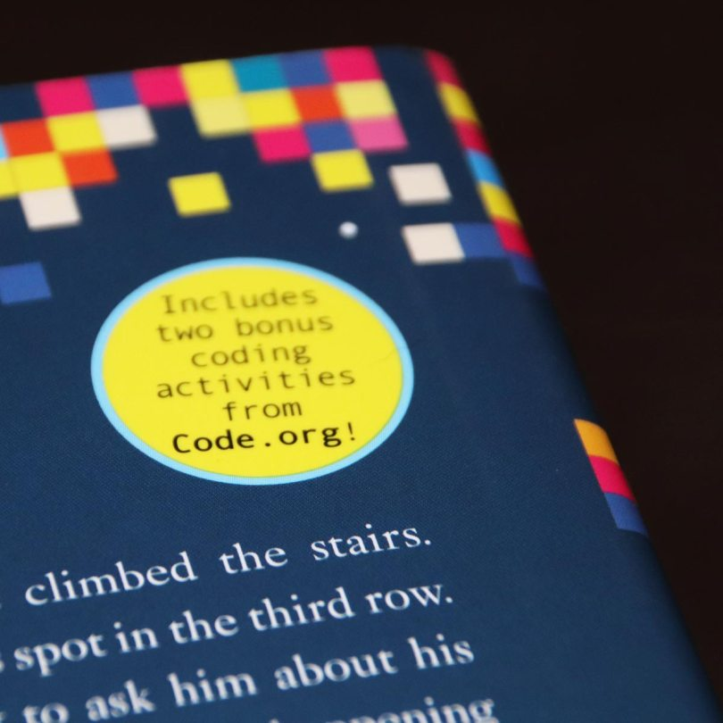 back cover of click'd book