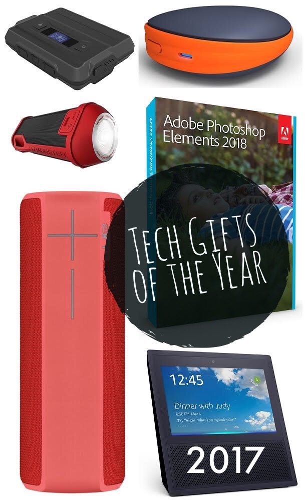2017 favorite tech gifts. These are the gadgets that are my favorites of 2017. I've tested a lot of gadgets and these are the most interesting and the ones I use over and over.