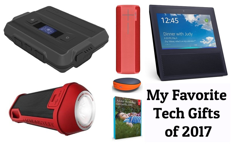 My favorite tech gifts of 2017. Holiday Gift Guide