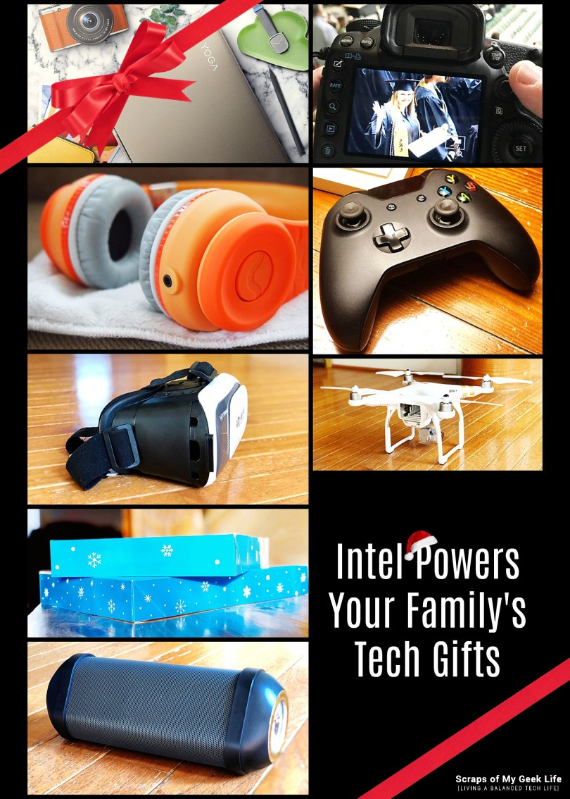 Intel's 8th Gen Core processor will power up all the tech gifts on your family's gift list. Be a super mom and give the power of Intel. #8thGen