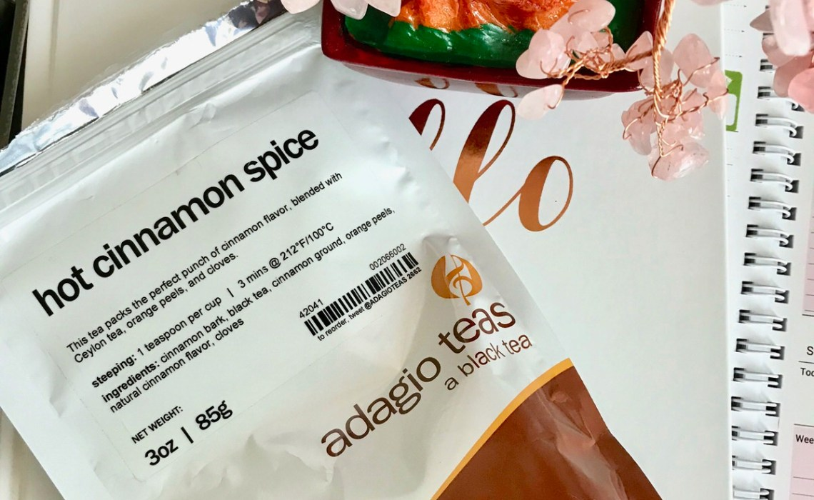 Adagio Teas Hot Cinnamon Spice is the perfect start to a cold winter morning routine.