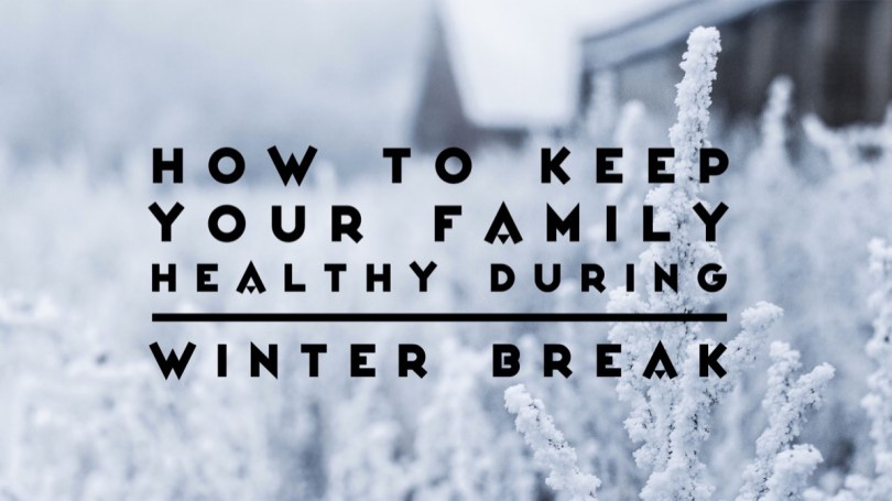 How to keep your family healthy over winter break. Everyone is home for a few weeks and cooped up in the house. You may have extra guests and lots of extra germs. Here are tips to help keep your family from getting sick. No one wants to spend winter break being sick. #healthylifestyle #IAQbyAprilaire